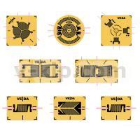 Тензорезисторы КФ5 - схематический вид
