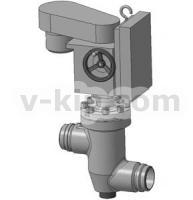Клапаны запорные сильфонные УФ 26070, УФ 26074 фото 1
