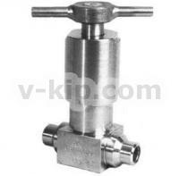 Клапан сильфонный запорный КИП СК 26022 фото 1