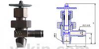 Клапаны запорные сильфонные угловые СК 29007-006