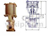 Клапаны запорные с пневмоприводом УФ 96271-015