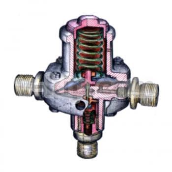 Реле импульсное газовое РИГ-117 в разрезе
