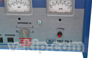 Установка для испытания кабеля УПЗ-80/5 - вид вблизи