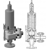 Клапаны импульсные DN20 по УФ 53074-020.00.00 ТУ фото 1