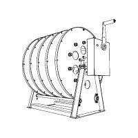 Кабельные барабаны с ручным приводом КБР