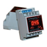Терморегулятор (реле температурное) ТР-4 на Din-рейку диапазон температур: от -25С до +125С фото 1