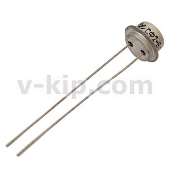 Фоторезистор СФ2-8 - вид сбоку