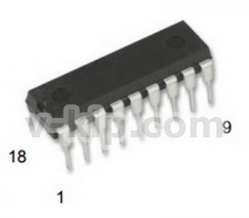 Микросхема КР537РУ14  фото 1