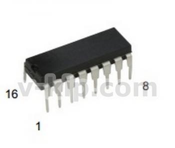 Микросхема КР512ПС10 фото 1