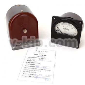 Вольтметр Э8021, добавочное сопротивление Р102 и паспорт