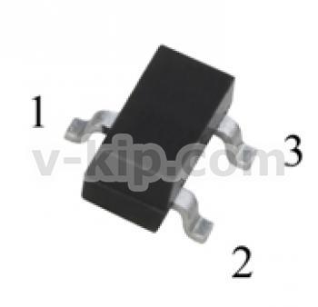 Транзистор n-канальный МОП  КП509В9  фото 1