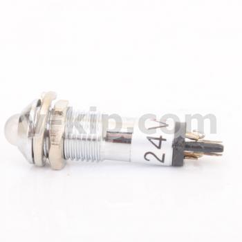 AD22B-8 арматура светосигнальная (белая) - фото №1