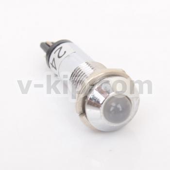 AD22B-8 арматура светосигнальная (белая) - фото №3