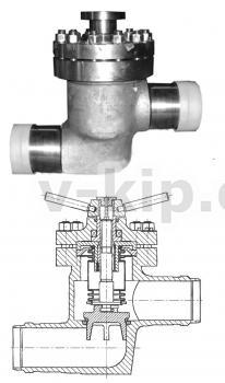 Клапаны сильфонные УФ 68017 регулирующие 10-150 по 3742-003-80841469-2010 фото 1