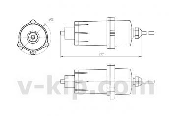 БД-C6H14-ОКА блок датчика гексана термохимический выносной для ОКА (стационарный) фото 1