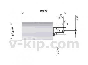 БД-Н2-ОКА блок датчика водорода термохимический выносной для ОКА (стационарный) фото 1