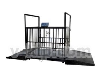 Весы товарные электронные ВЭСТ – 1500 с функцией взвешивания животных фото 1
