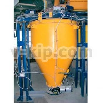 Дозатор весовой автоматический для дозирования цемента с двухвинтовым шнековым питателем фото 1
