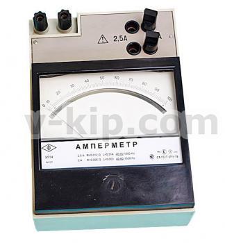 Амперметр Э514 - общий вид