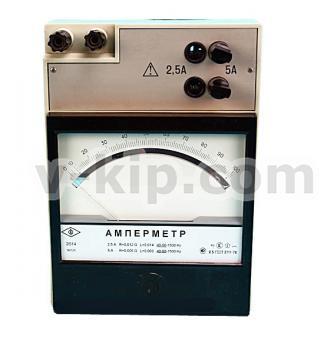 Амперметр Э514 - вид спереди