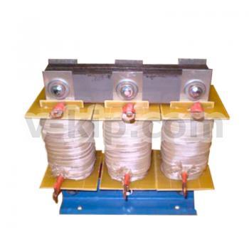 Фото фильтрующего дросселядля защиты конденсаторных батарей