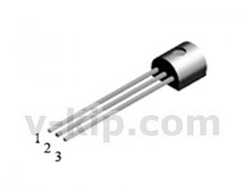 Транзистор КП502А n-канальный МОП  фото 1