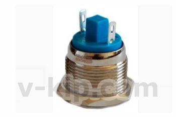 Фото кнопки металлической TY 19-211P Pcb