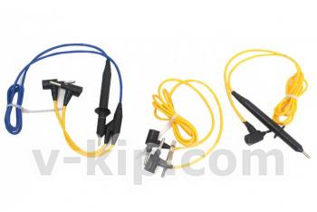 Комплект шнуров для мегаомметр ЭС0202 2г - общий вид