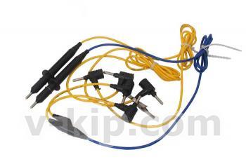 Комплект шнуров для мегаомметр ЭС0202 2г - комплектация