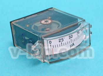 Микроамперметр М4248- вид сбоку