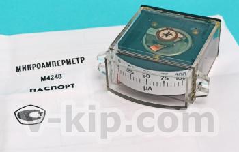 Микроамперметр М4248 - общий вид