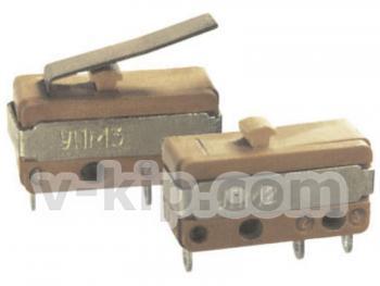 Микропереключатели типов УПМ2