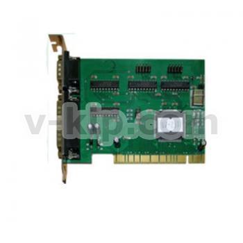 Мультипортовая плата 4XRS232 PCI UART1  - фото