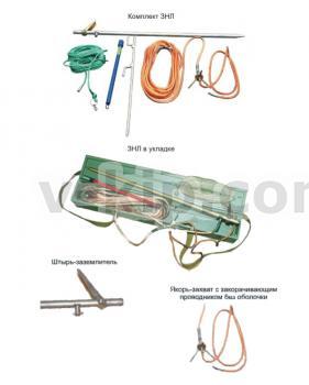 Переносное заземление ЗНЛ для проводов ВЛ 10кВ фото 1