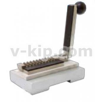 Приспособление для приклеивания липкой ленты к гофрированному образцу СТИ-5 фото 1