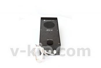 Пульт одноканальной громкоговорящей связи ПГС-5 фото 1