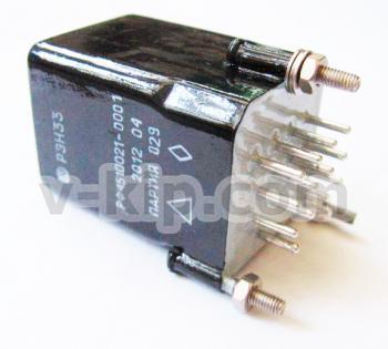 Реле электромагнитное РЭН-33 фото 2