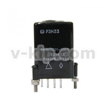 Реле электромагнитное РЭН-33