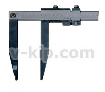 Штангенциркуль ШЦ-ІІІ с длиной губок 250 мм фото 1