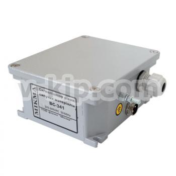 Сигнализатор уровня сыпучих материалов ВС-341 - вид сбоку