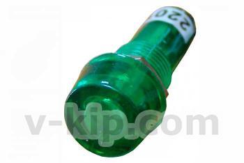 Фото сигнальной арматуры PL1-101 зеленой