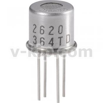 TGS2620-C00 сенсор (датчик) паров органических растворителей (алкоголя) полупроводниковый фото 1