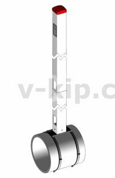 Устройство крепления стойки КИП в слабонесущих грунтах УКСГ фото 1
