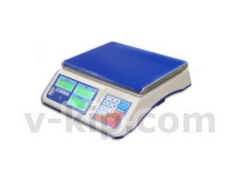 Весы торговые настольные электронные ВТНЕ/1-6Т1К фото 1
